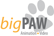 Big Paw Video Production Logo