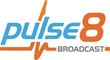 Pulse8Broadcast - Outside Broadcast Solutions & Services Logo