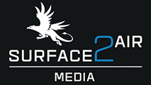 Surface to Air Aerial Filming Logo
