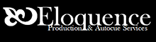 Eloquence Autocue Services South of England Logo