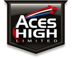 Aviation Filming Aces High Logo