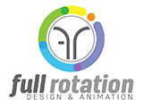Full Rotation - Design & Animation Logo