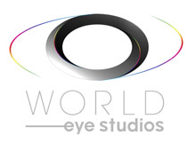 WORLD EYE TV & Film STUDIOS Logo