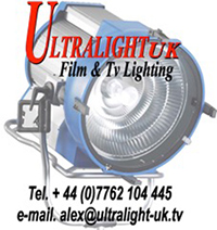 Alex Gibbon Lighting Gaffer London Logo