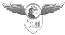 Spirit in the Sky Vintage Aircraft Logo