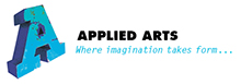 Applied Arts costume and Props Theatre UK Logo