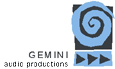 Gemini Audio Productions Logo