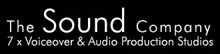 The Sound Company Voiceover Studio London Logo