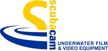 Scubacam Ltd Underwater Film and Video Equipment Logo