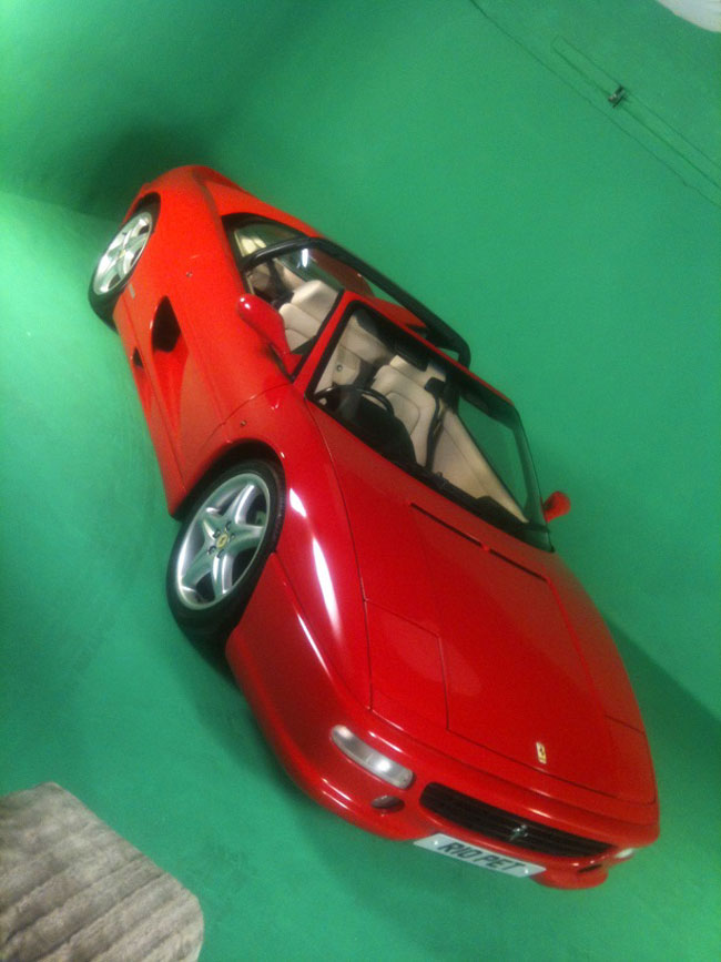 Camberwell Studios Guides Shooting A Car On Green Screen