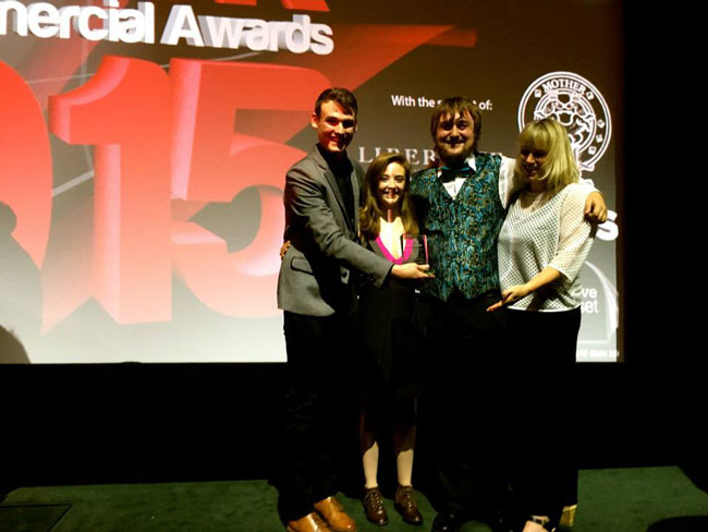 University Students Win Award For Short Film - UK Broadcast
