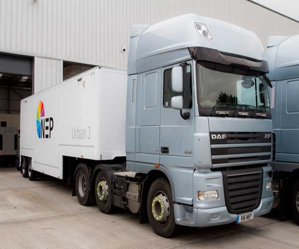 NEP Group Takes RTS To The Races With Equinox OB Truck - UK