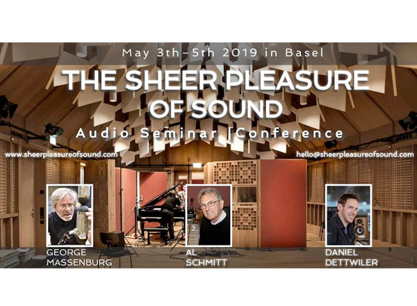 'The Sheer Pleasure Of Sound' Takes Place From 03-05 May