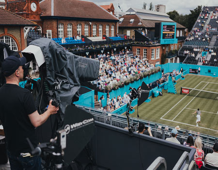 To Provide Technical OB Facilities For BBC Sport's Tennis Tournaments