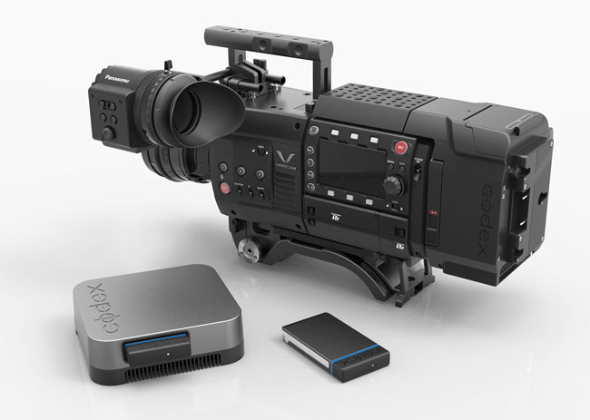 The Recorder Is For The Panasonic VariCam 35 Camera